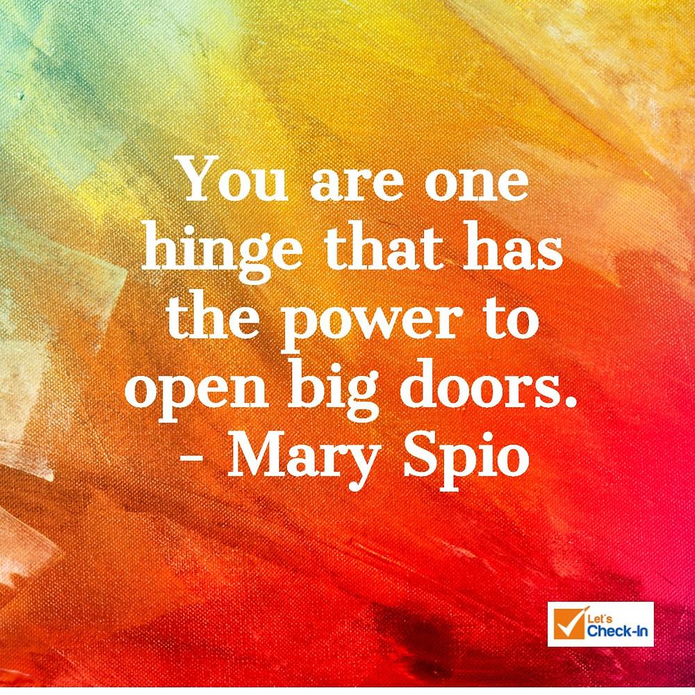 Dream Big - Mary Spio