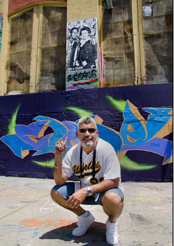 Joe Conzo, Jr. - image courtesy of Francisco Molina Reyes II