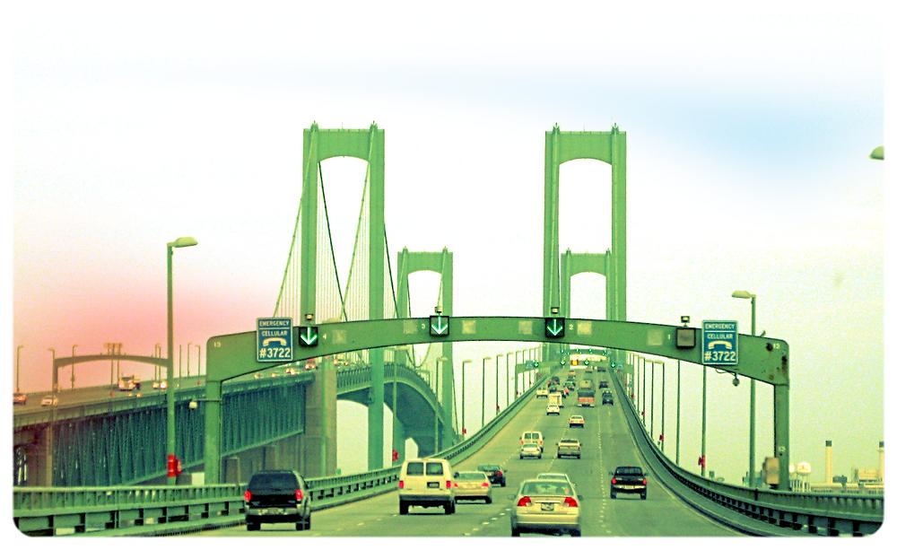 Delaware Memorial Bridge - Wikimedia Commons 2018