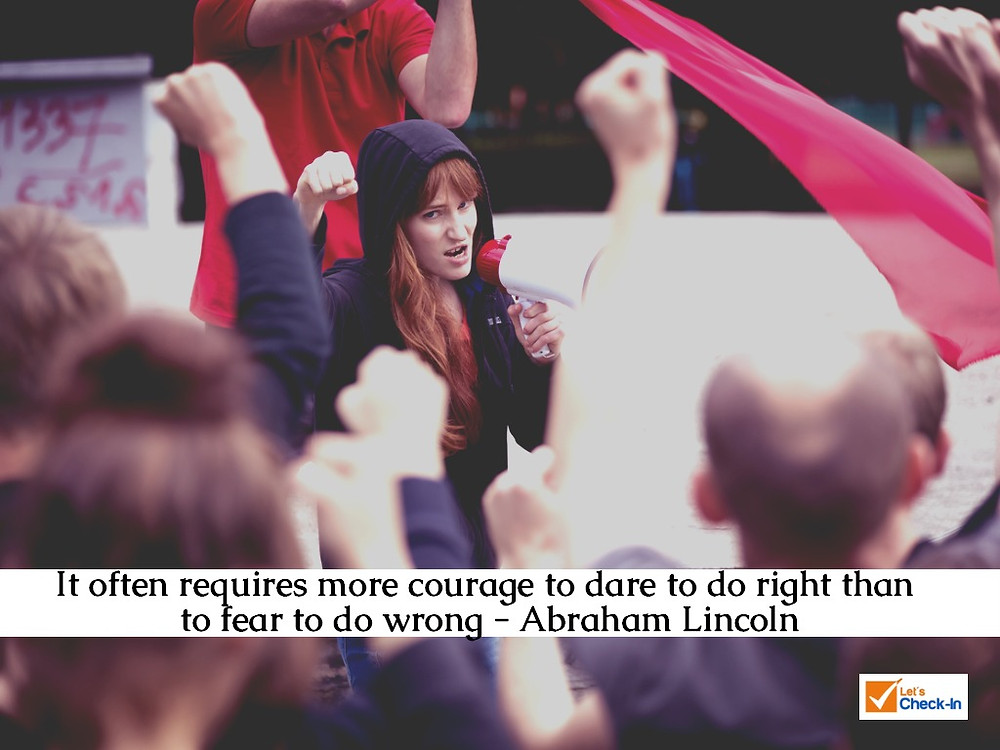 It often requires more courage to dare to do right than to fear to do wrong. - Abraham Lincoln | Image - iStock