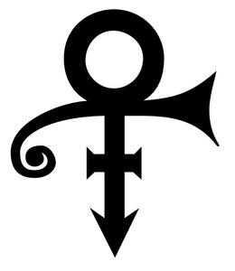The signature symbol for Prince - courtesy Wikipedia