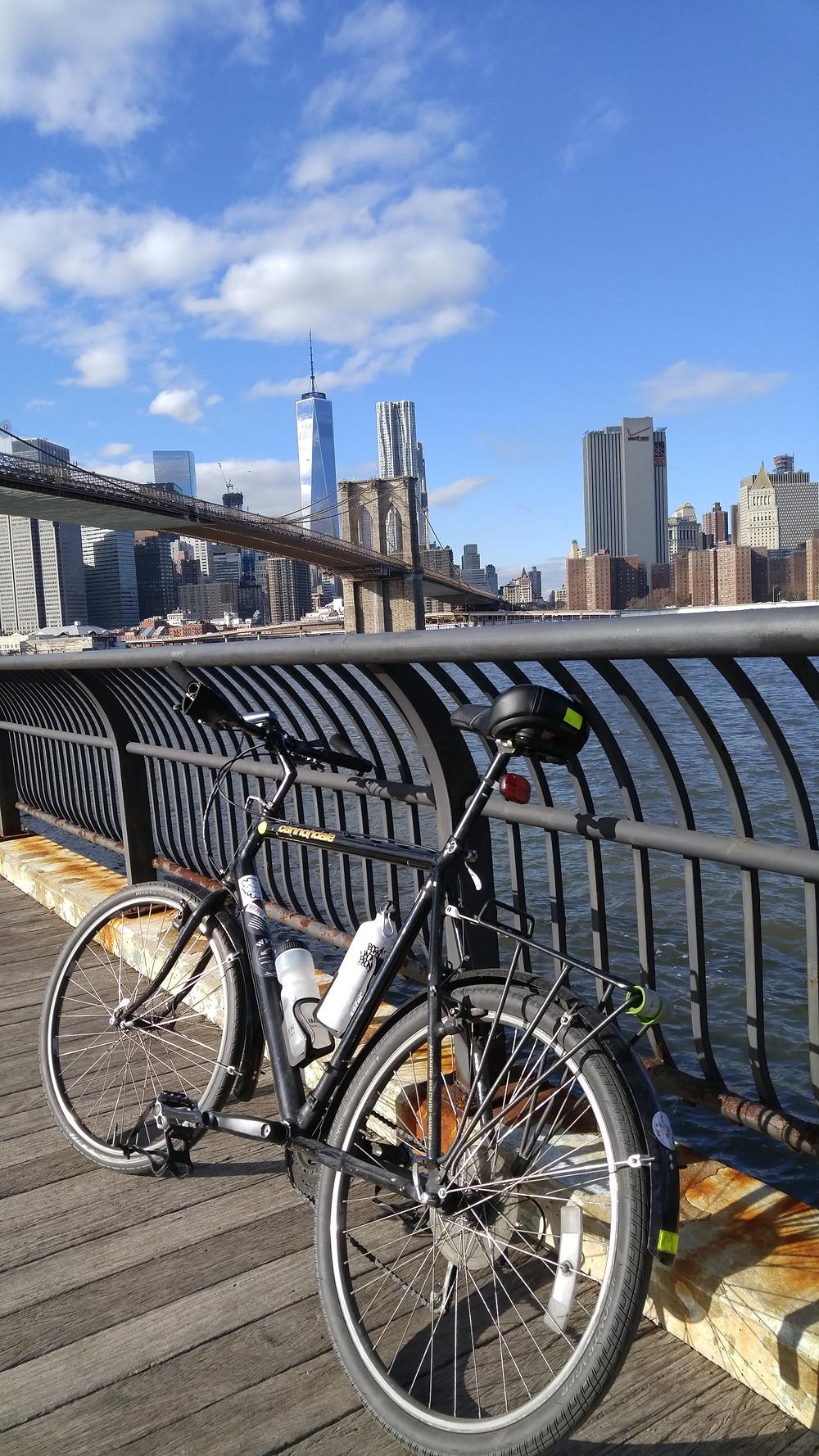 Bike and Bridge - image courtesy of the author