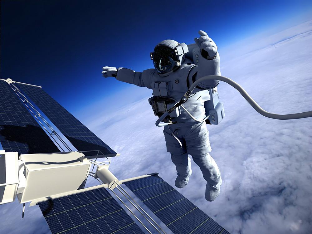 Stepping Boldly, Alone - image courtesy of iStock