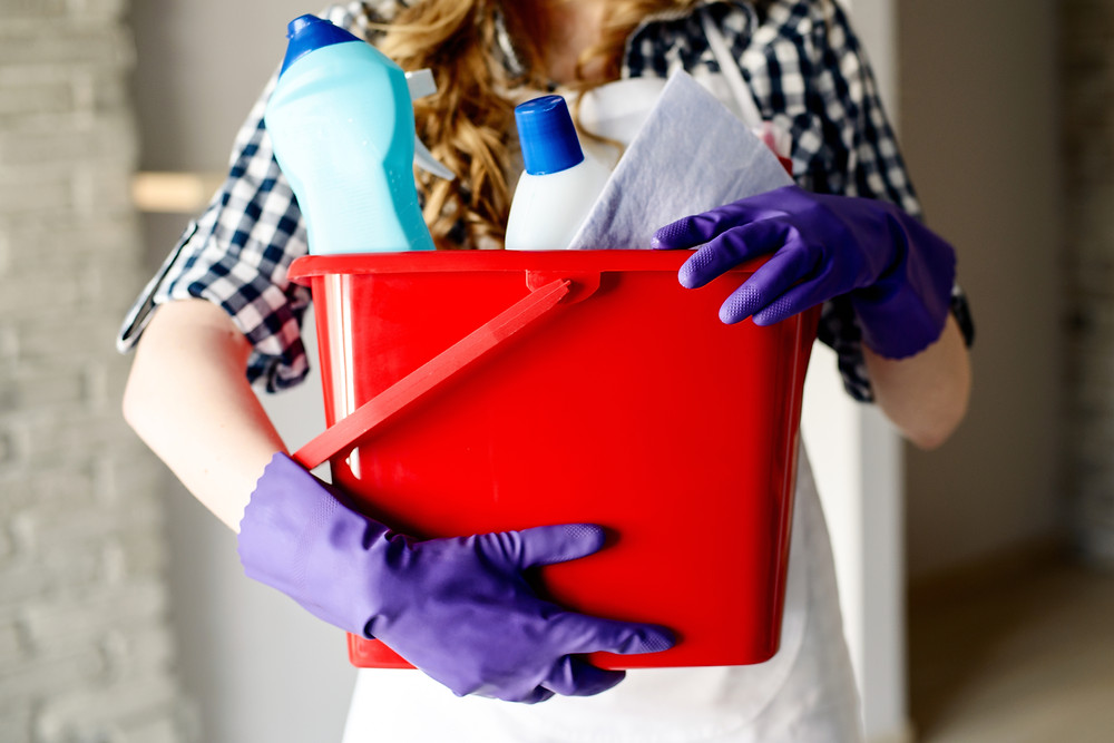 Cleaning House can be a metaphor for our lives. | Image - iStock