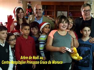 Фото Рождество для детей в госпитале Мон