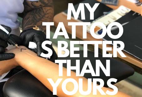 Why organic tattoos?
