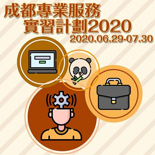 成都專業服務實習計劃2020