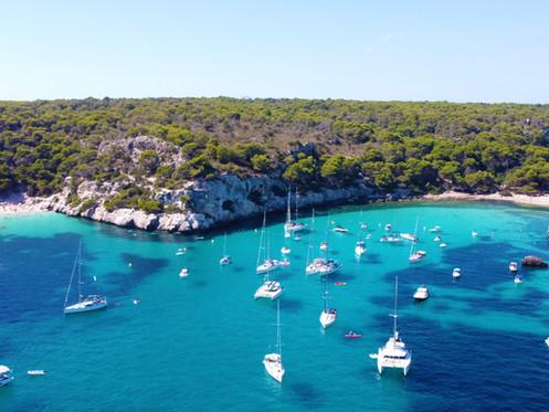 La guía más completa de las Calas de Menorca