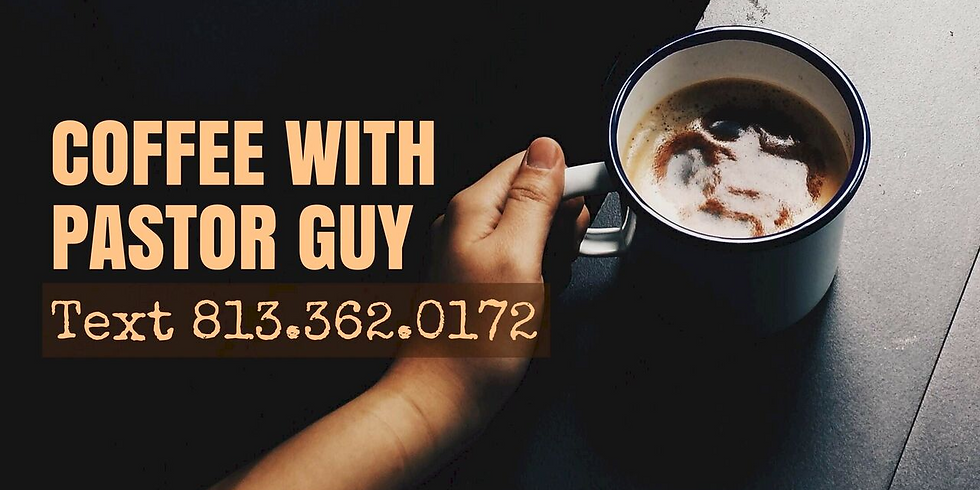 Coffee With Pastor Guy