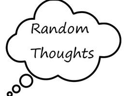 Random thought