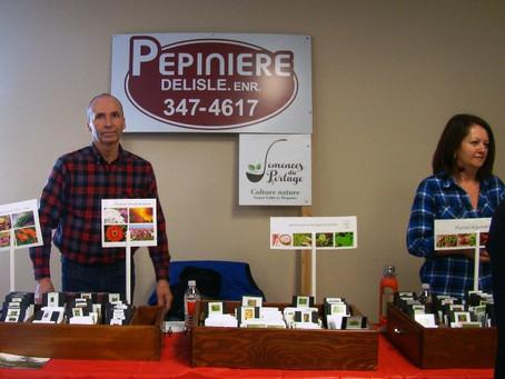 La Pépinière Delisle offre des semences libres.