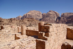 nabatean temple wadi rum