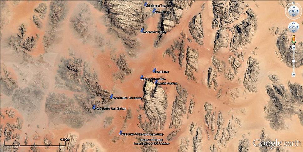 Wadi Rum 2 days 1 night Trekking
