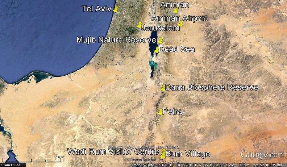 Getting to Wadi Rum