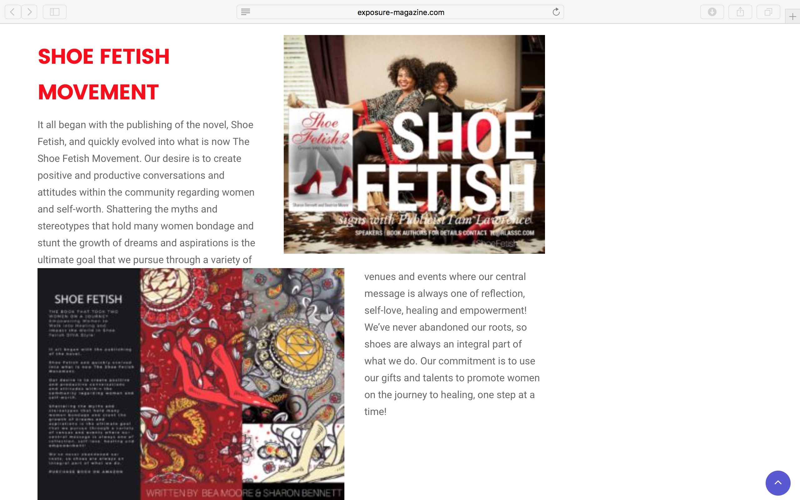 The Shoe Fetish Movement Highlighted