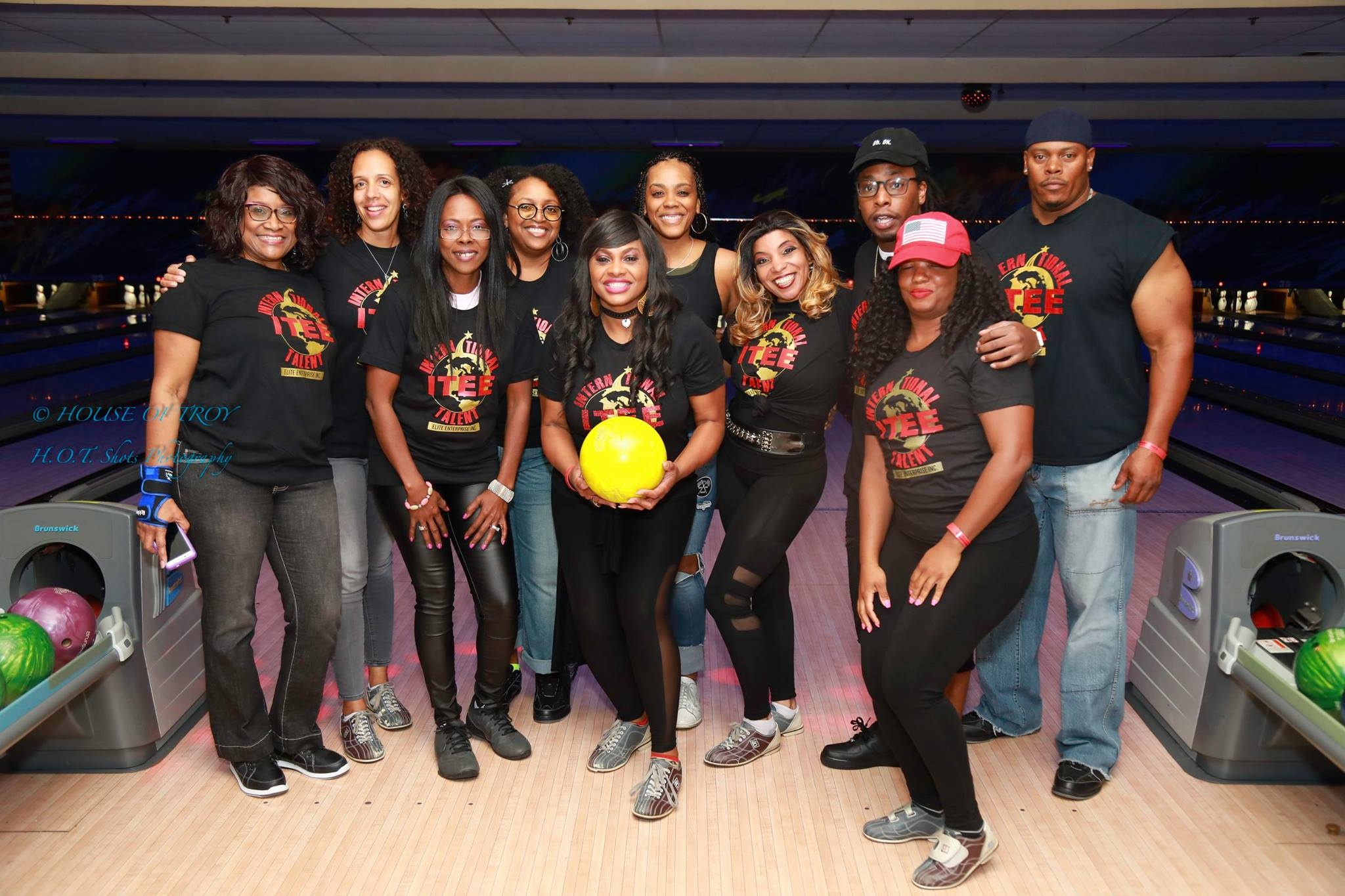 Sickle Cell Celebrity Bowl-Team ITee