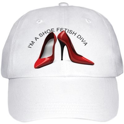 Shoe+Fetish+Red+Heels+BaseBall+Cap