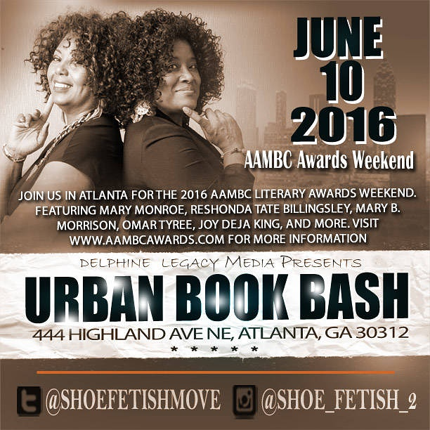 Urban Book Bash Flyer