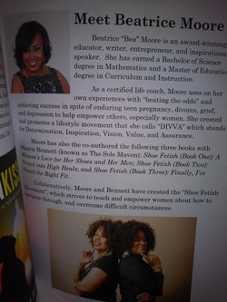 Bea featured in Book Expo Mag