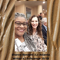 Sharon Bennett (L)- Atlanta Writer's Con