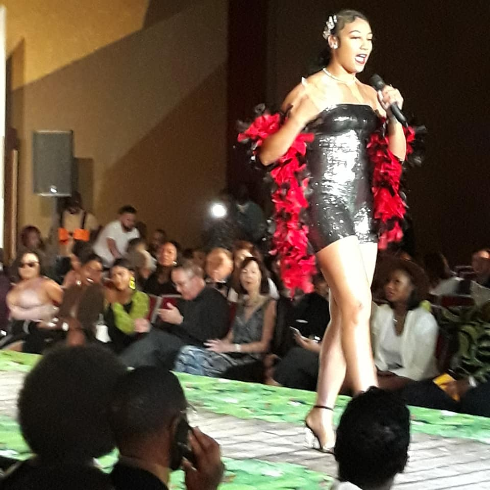 MC at Atlanta Designers Fashion Show