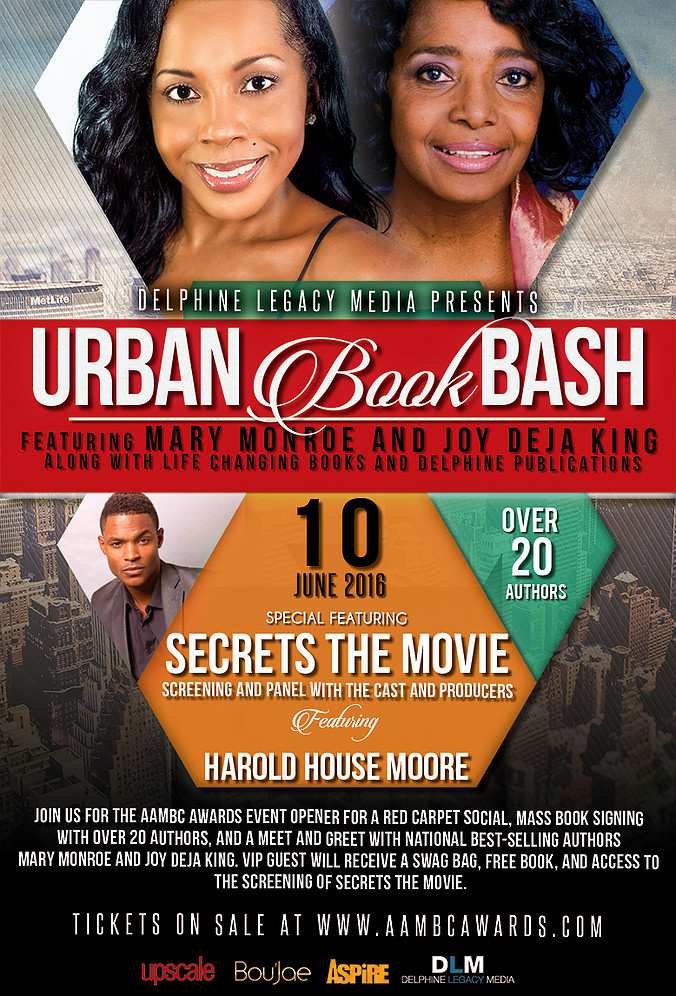 Atlanta Urban Book Bash Flyer