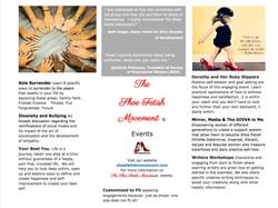 Speaking Events Brochure