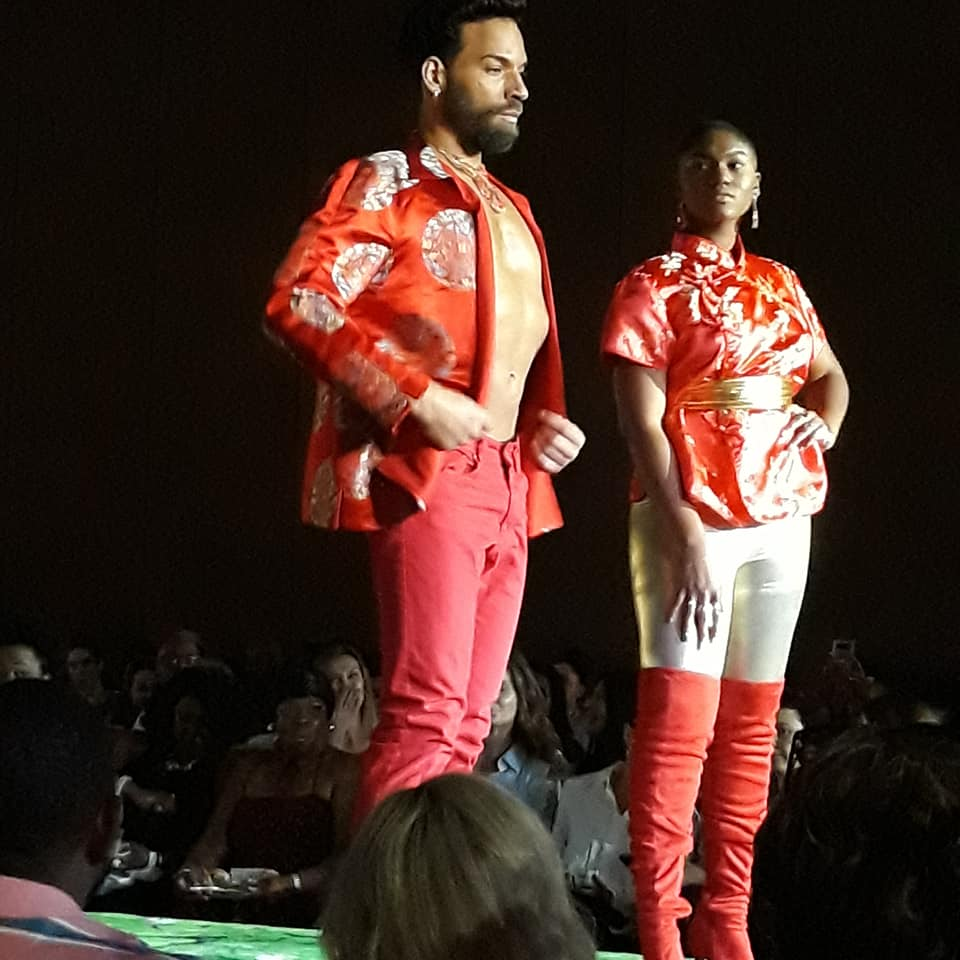Models at Atlanta Designers Fashion Show