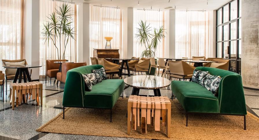 לובי מלון 65 - שדרות רוטשילד 65