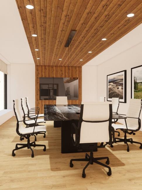 corporate office_interior design_renderi