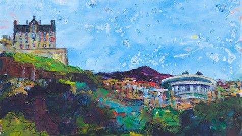 The Castle from Princes Street (Sold)