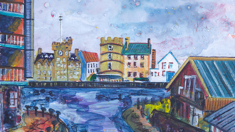 The Shore from Teuchters Landing (Sold)