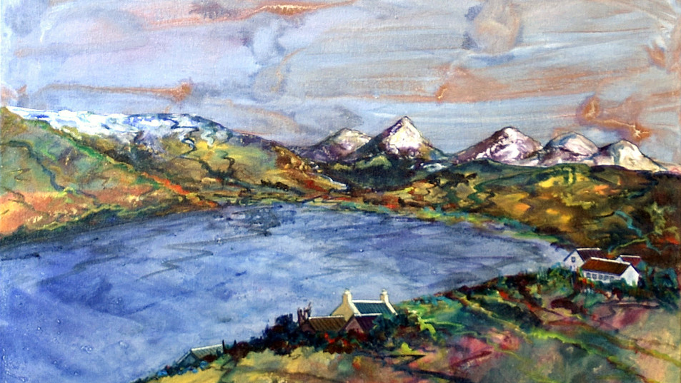 Cuillins from Carbost