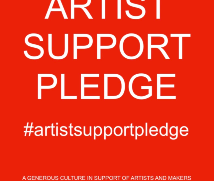 Gift sized and priced works soon available! I am taking part in #artistsupportpledge