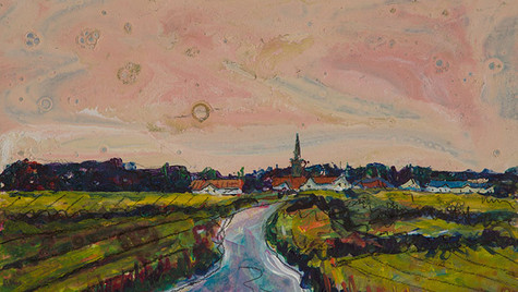 Approaching Kingsbarns (Sold)