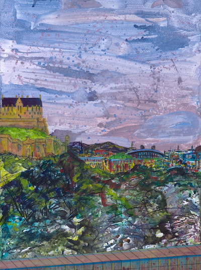 The Castle and Commerce, Princes Street (Sold)