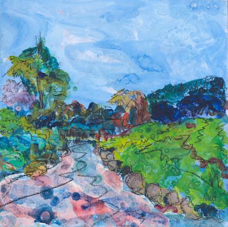 Japanese Pond, Lauriston Castle (Sold)