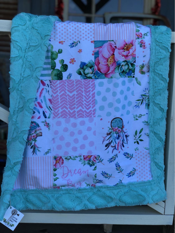 Thumbnail: Minky Baby Blankets