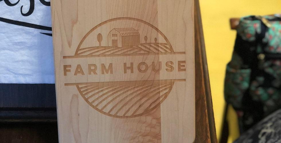 Farm house cutting board