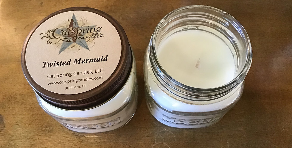 Twisted Mermaid Candle