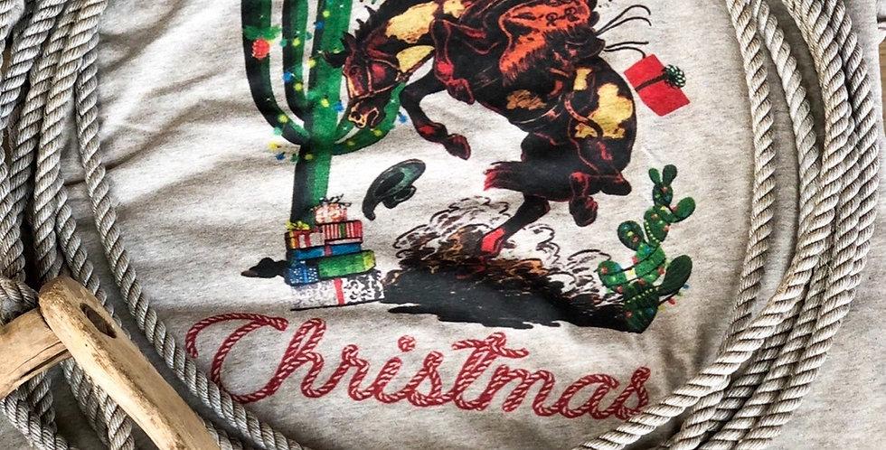 Cowboy Christmas Tee