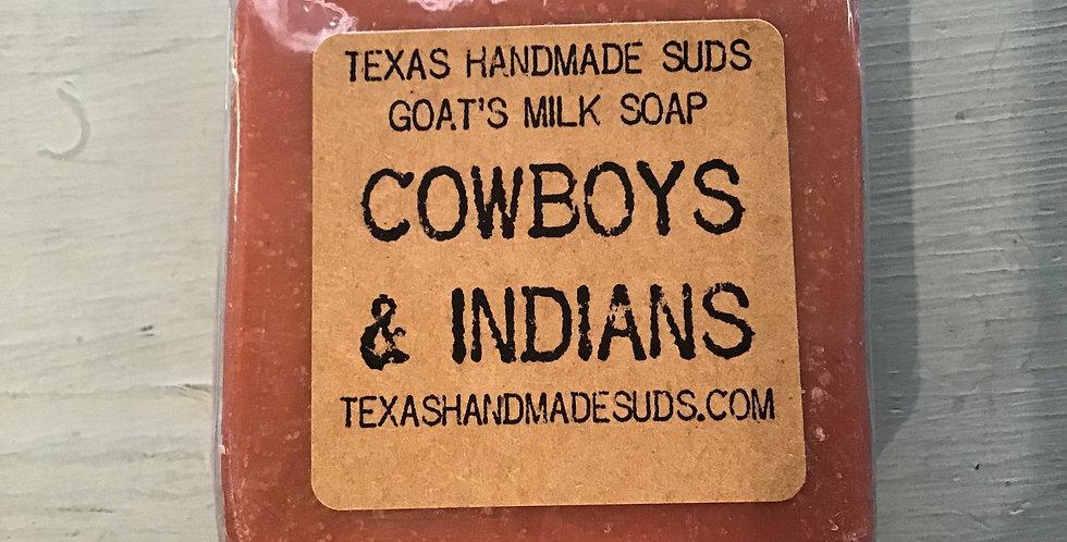 Cowboys & Indians Soap