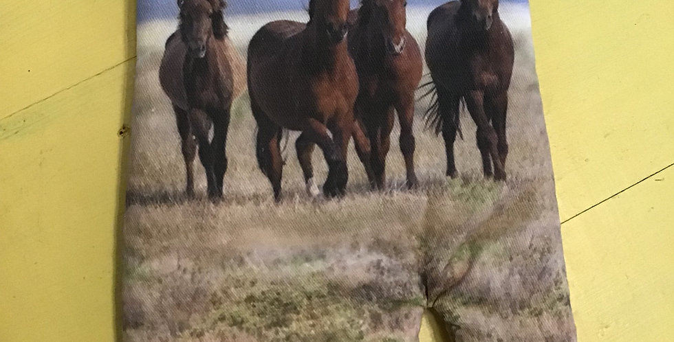 Horses Oven Mitt