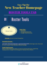 new teacher homepage- roster tools (1).p