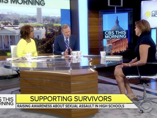 SUSAN PROUT | RAISING AWARENESS ABOUT SEXUAL ASSAULT IN HIGH SCHOOLS
