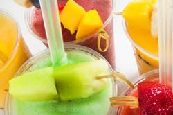 Fresh Fruit Tapioca Smoothies