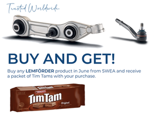 🆓 FREE TimTam with every LEMFÖRDER purchase!