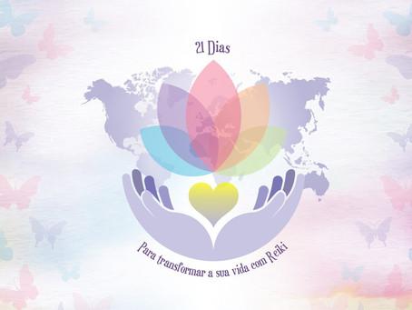 21 Dias para Transformar a Sua Vida com Reiki