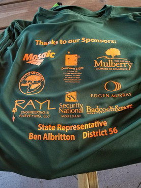 Rayl Engineering & Surveying, LCC was a proud sponsor of the Mulberry Chamber of Commerce's 11th Annual Sporting Clays Shoot!