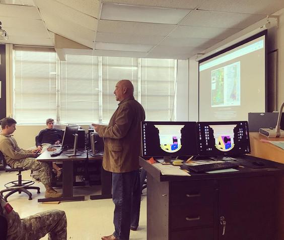 Alan Rayl Speaking at Bartow High School's ACE Mentor Program